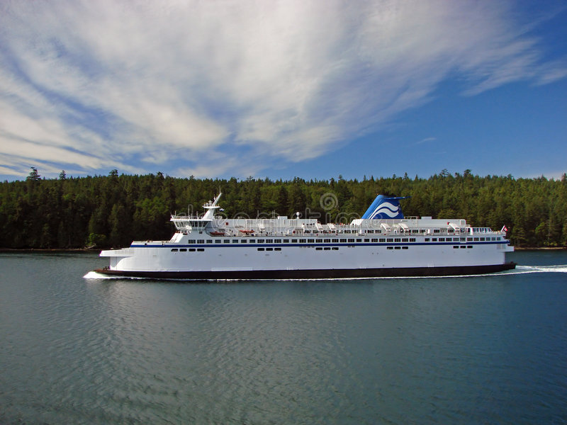 Download Ferry stock image. Image of house, ocean, traveling, clouds - 3932255