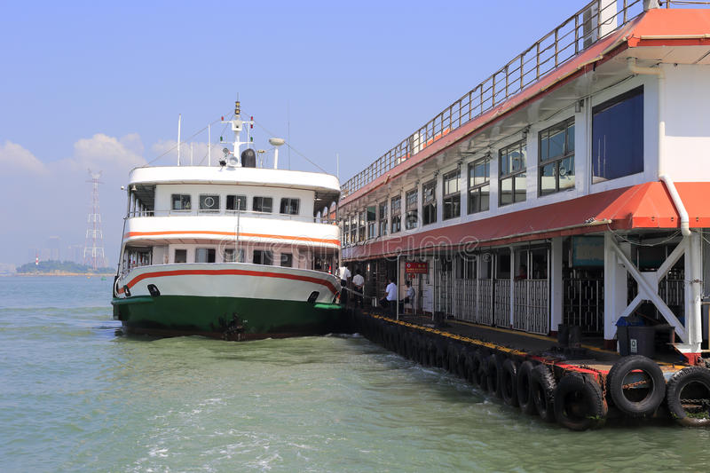 Download Ferry editorial image. Image of buildings, orient, harbor - 33620705
