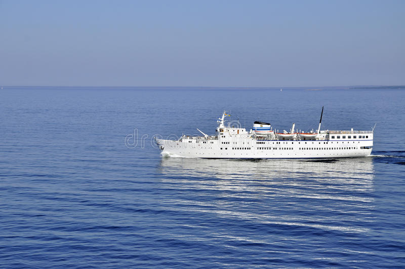 Ferry boat royalty free stock image
