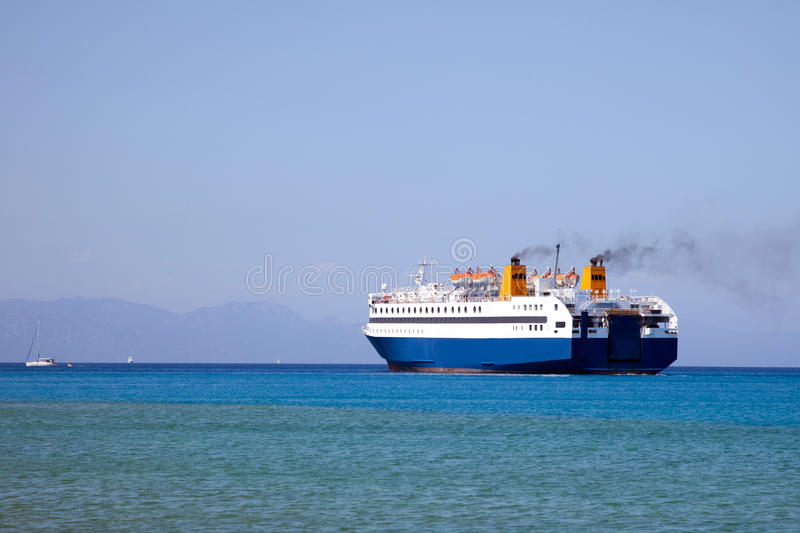 Download Ferry boat stock photo. Image of waterfront, gulf, cargo - 20549710