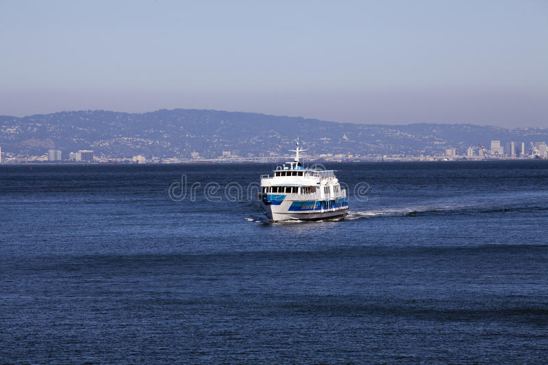Download Ferry Boat On Bay Heading Towards Viewer Stock Photo - Image: 20614752