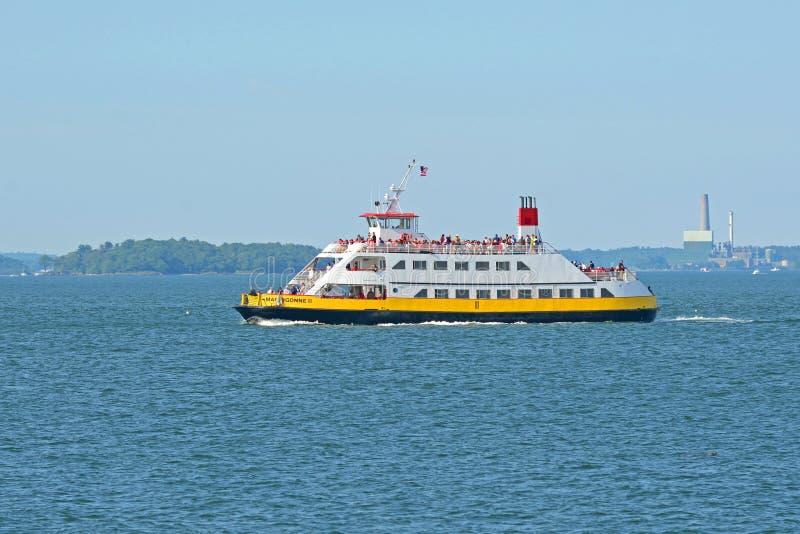 Ferry-boat de MACHIGONNE II à Portland, JE, Etats-Unis images stock