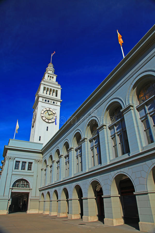 Download Ferry Building stock image. Image of monument, architecture - 12232133