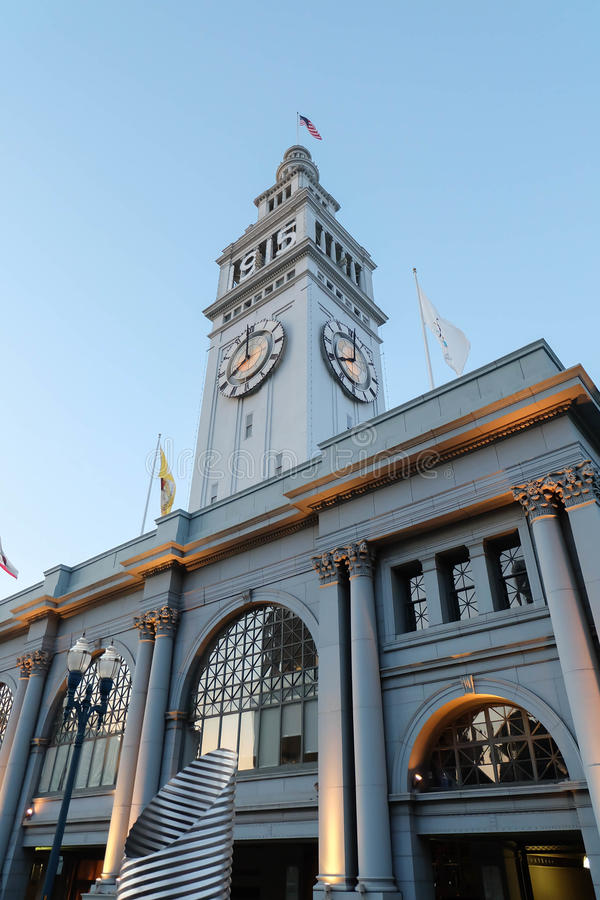 Ferry Building royalty free stock photography