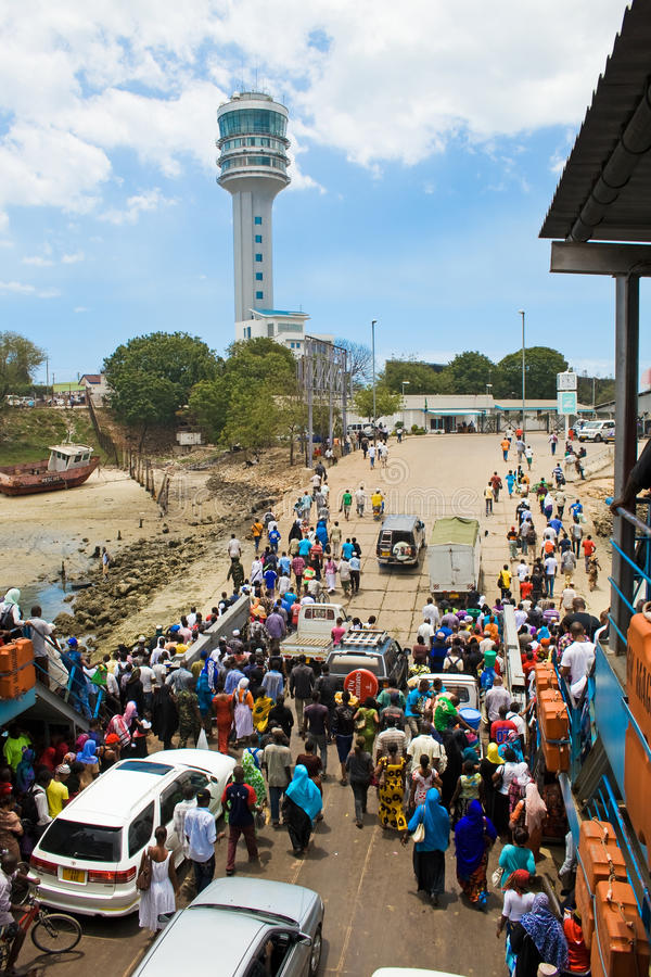 Download Ferry in Dar es Salaam editorial photography. Image of dar - 26948977