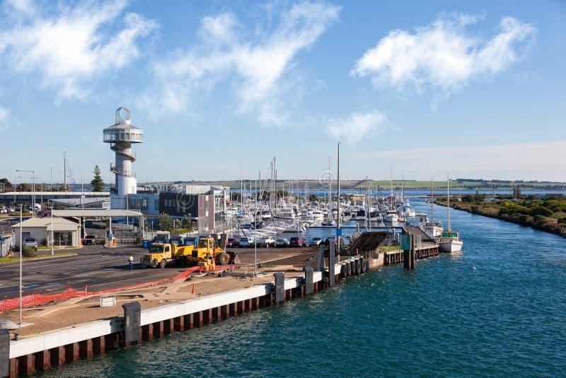 Ferry de Queenscliff Sorrente images libres de droits