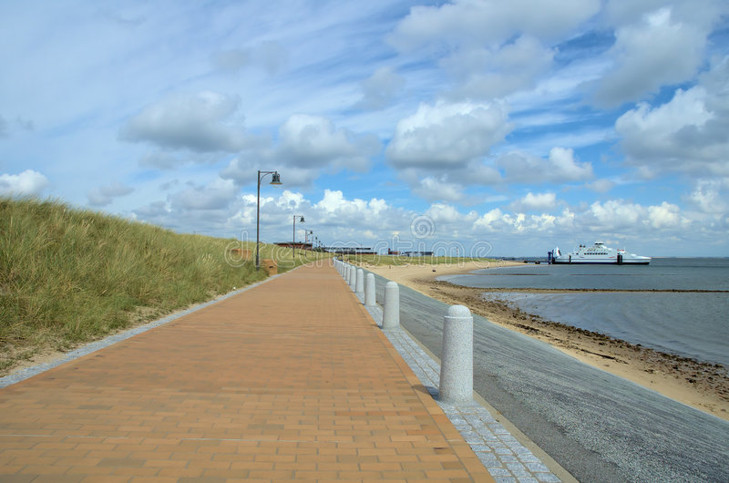 Download Ferry in the distance stock image. Image of coast, shore - 2898625