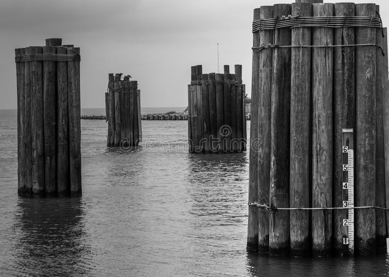 Ferry dock royalty free stock image