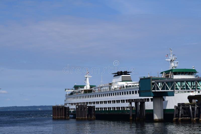 Ferry Docking stock image