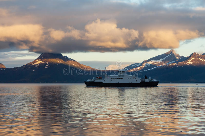 Download Ferry stock photo. Image of nordland, clouds, skutvik - 32439110