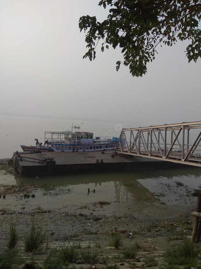 Ferry Ghat arkivfoton