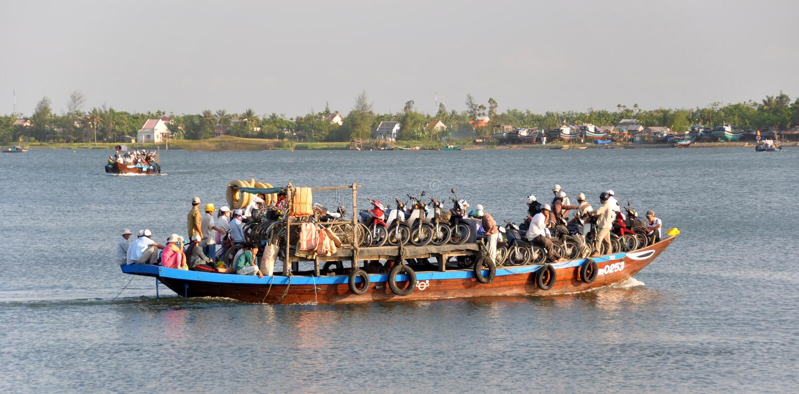 Download Ferry On The Hoi An River, Vietnam Editorial Stock Photo - Image: 17782333
