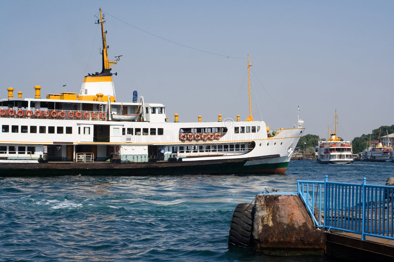 Ferry Istanbul stock photography