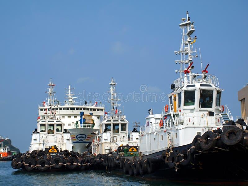 Ferry a las islas de Penghu fotografía de archivo libre de regalías