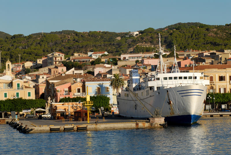 Ferry Port Stock Image