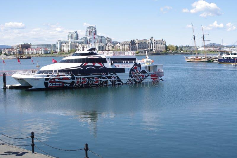 ferry réservé au passager photographie stock libre de droits