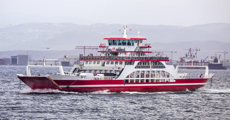 Download Car Ferry stock image. Image of destination, wafter, transportation - 56156587