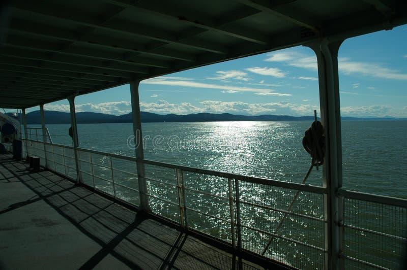 Ferry ride royalty free stock photos