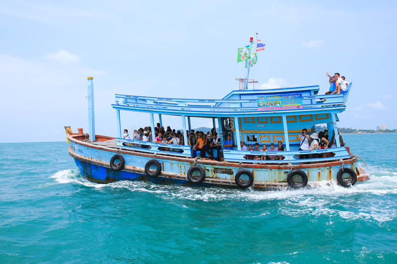 Download Ferry stock photo. Image of island, boat, ferry, samet - 43301234