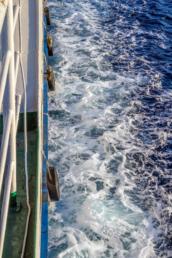 Download Ferry trail stock photo. Image of nature, mediterranean - 26936494