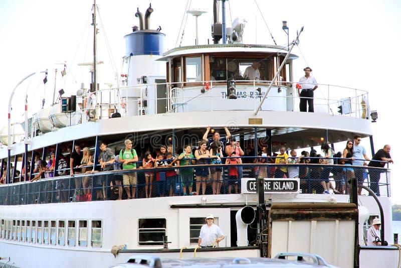 Ferry Trip stock photo