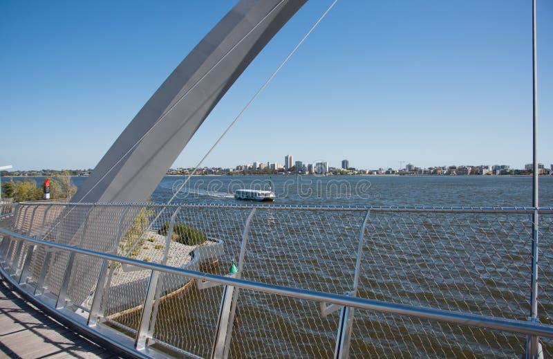 Ferrying em Perth foto de stock royalty free