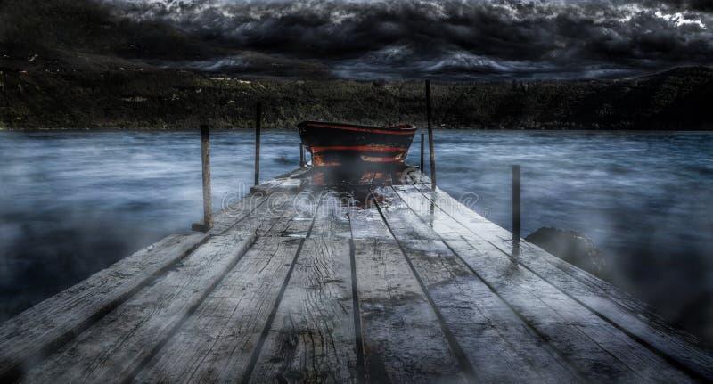 ferryman fotografie stock libere da diritti
