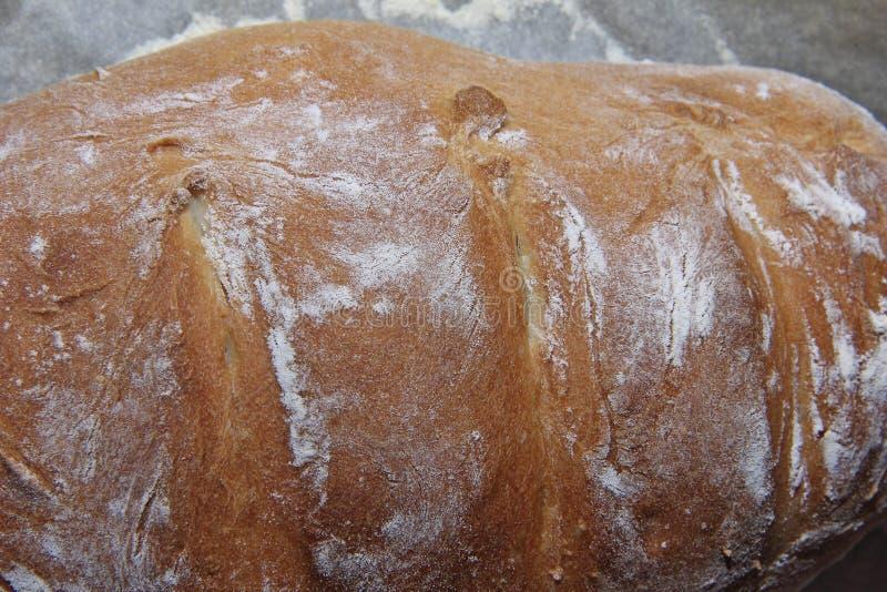Fertiggerichte hausgemachtes Brot mit knackiger Weizenkruste stockfoto