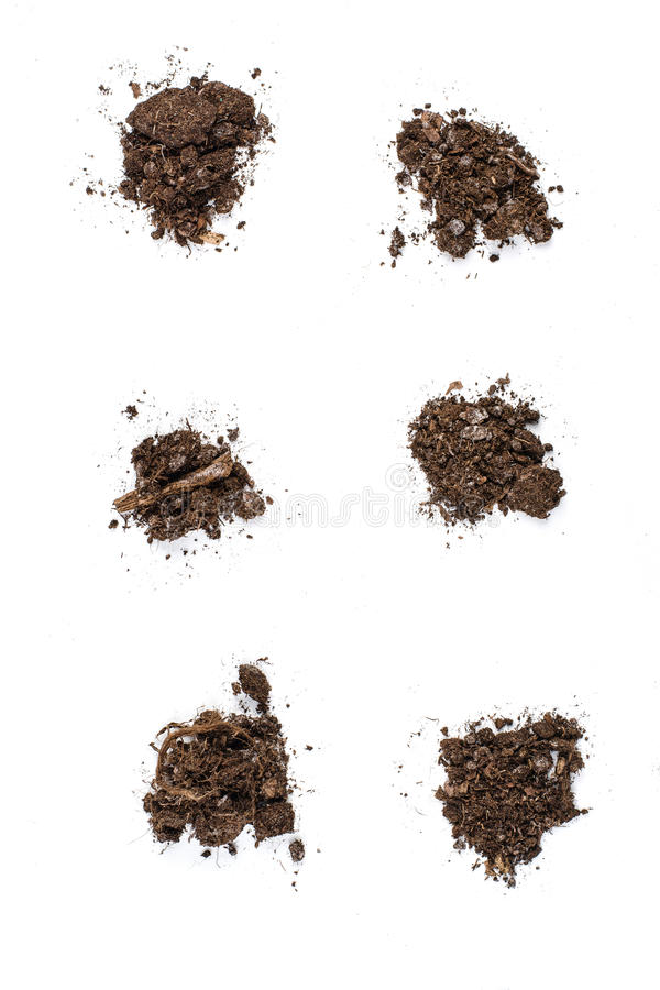 fertile garden. Download Fertile Garden Soil Texture Background Top View Isolated On White Stock Image - Of