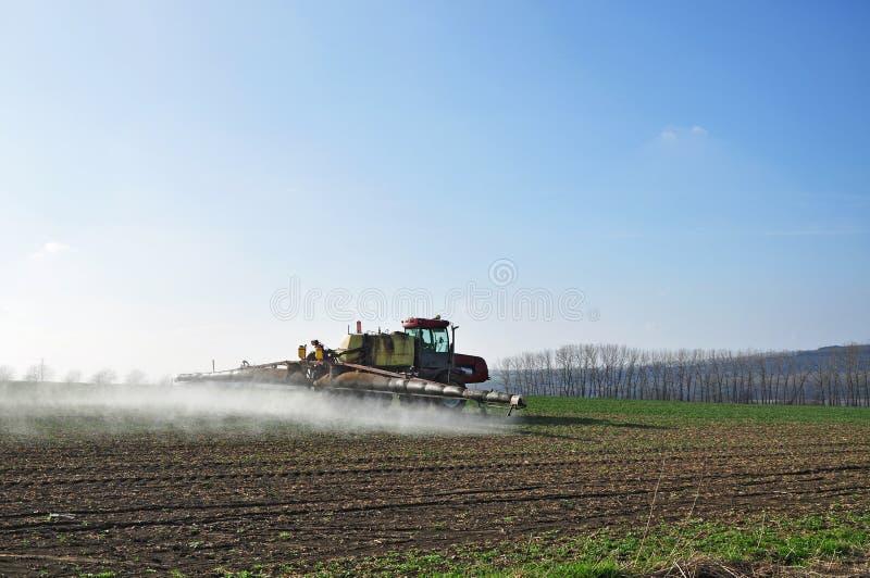Fertilisation d'agriculture image libre de droits