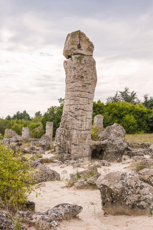 Fertility Stone - Stone forest - Varna royalty free stock images