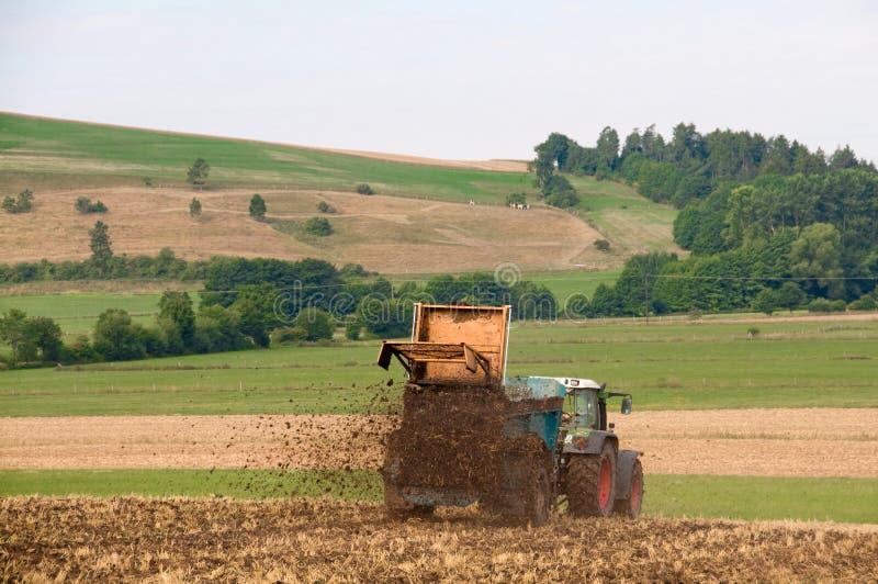 Fertilizante. imagem de stock