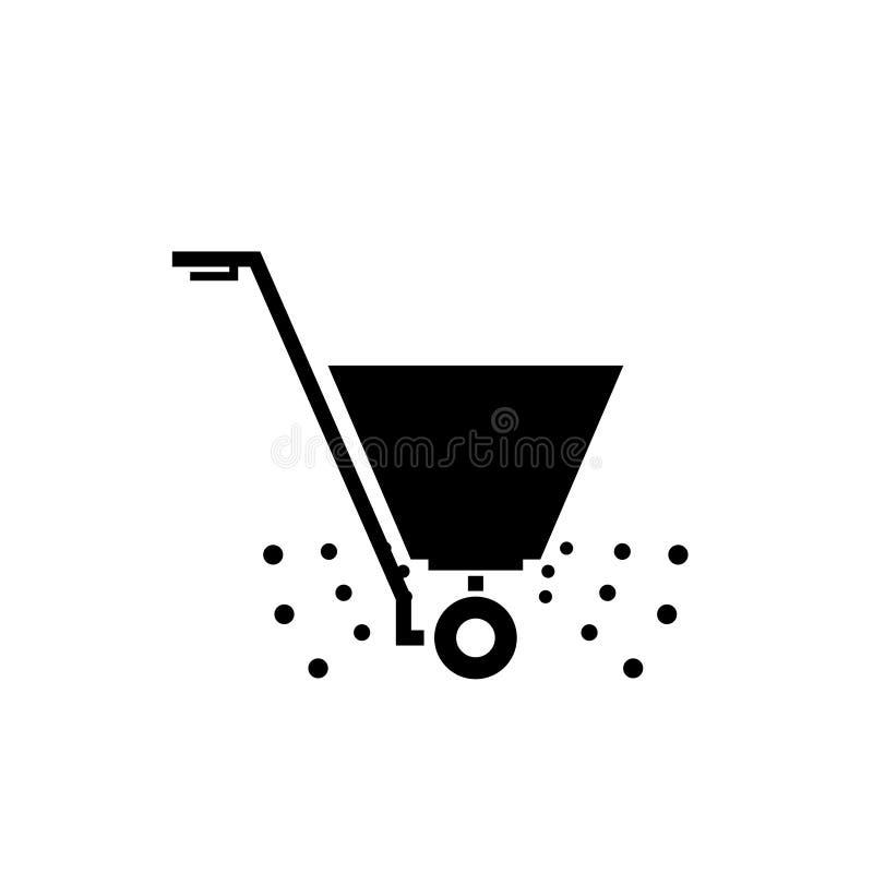 Free Fertilizer Spreader Icon Royalty Free Stock Photo - 136801175