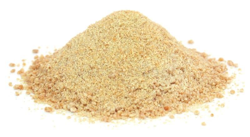 Ferulaassafoetida eller Hing krydda arkivbild