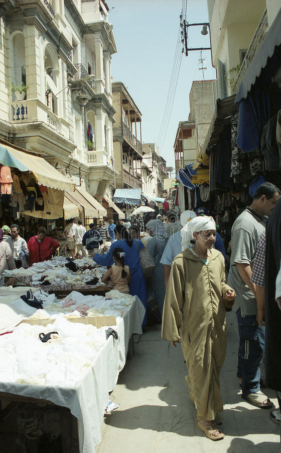 Fes market royalty free stock images