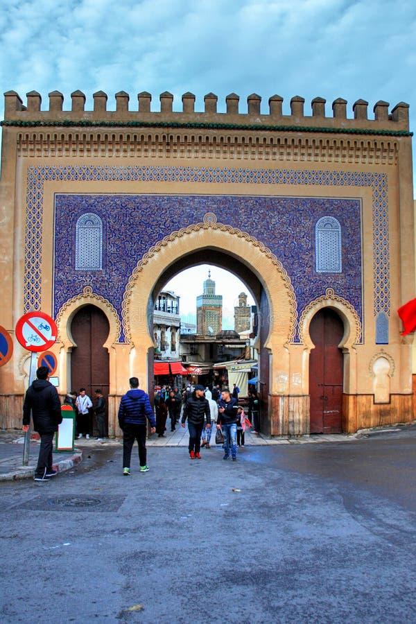Fes in Marokko royalty-vrije stock fotografie