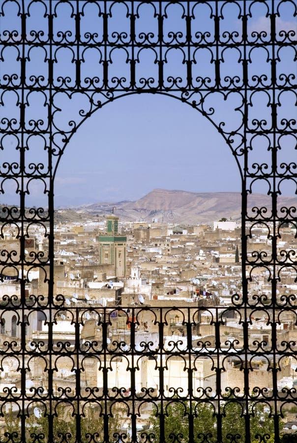 Fes, Marokko stockbild