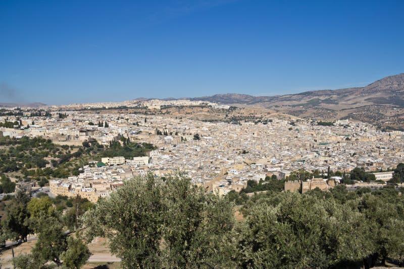 Fes - Marrocos fotografia de stock royalty free