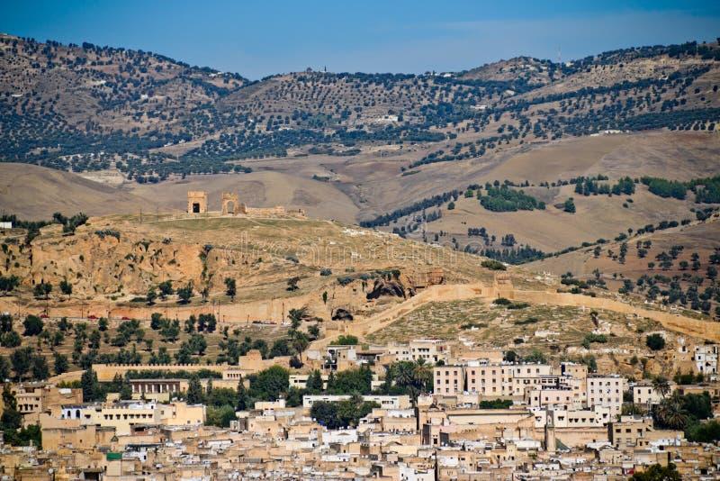 Fes - Marrocos foto de stock