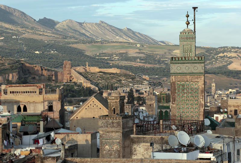 fes Morocco fotografia stock