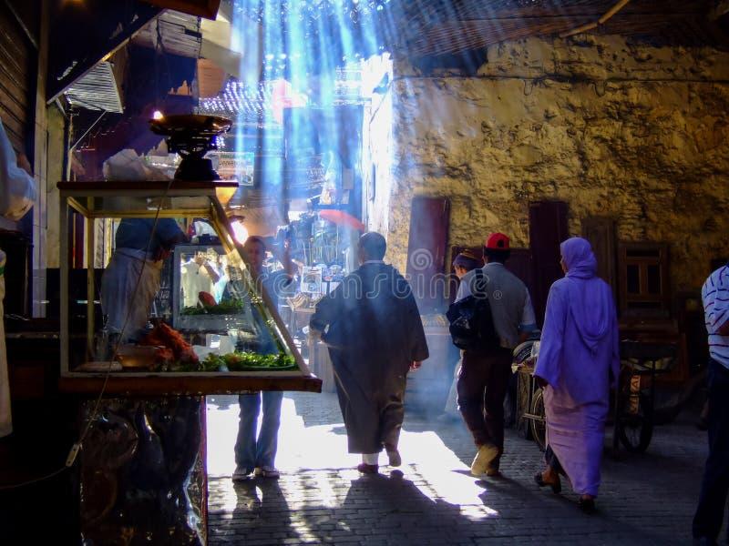fes morocco royaltyfri foto