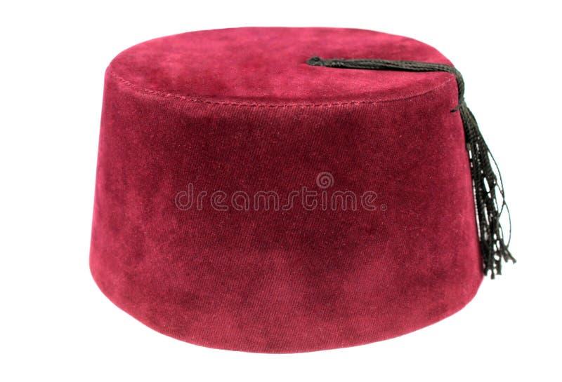 Fes turca, cappello tradizionale dell'ottomano immagini stock