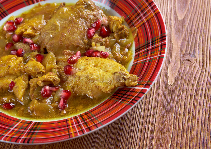 Fesenjan Persian Chicken Stew Stock Photo - Image of chili ...