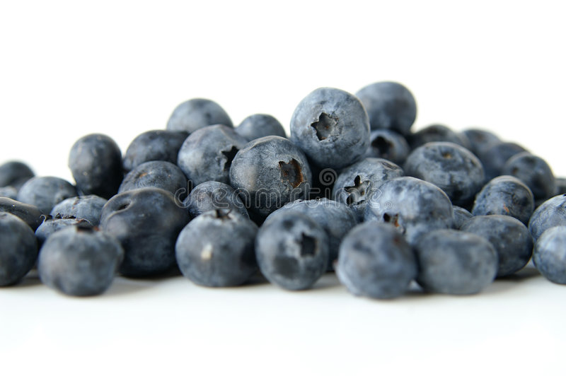 Fesh blueberries royalty free stock photo