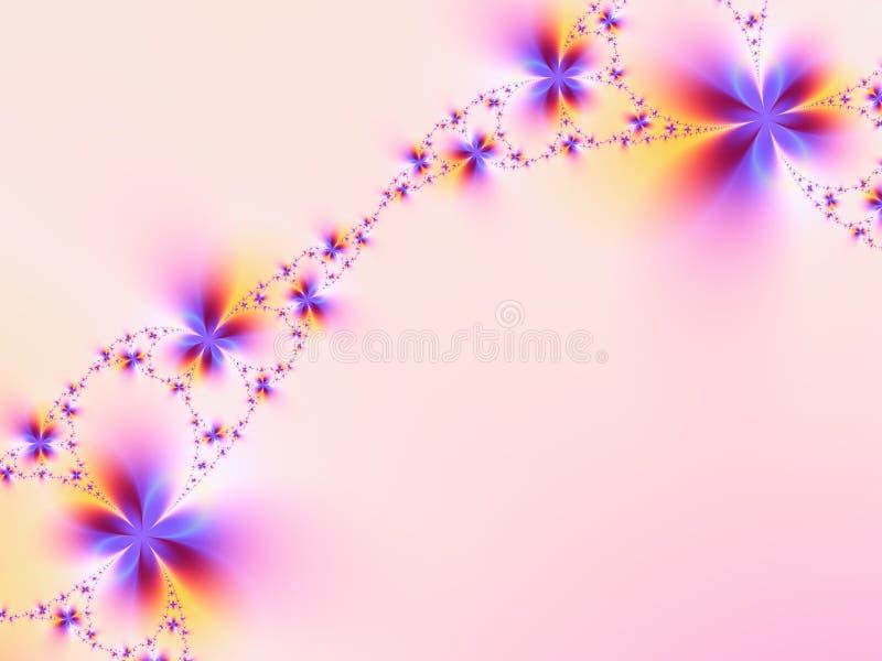 Festão das flores ilustração stock