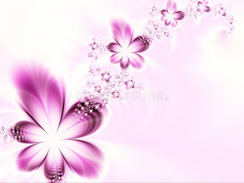 Festão das flores ilustração royalty free