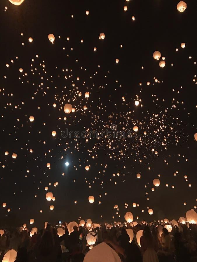 Fest da lanterna imagem de stock