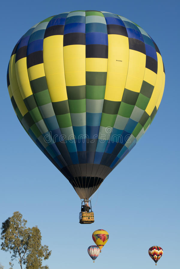 Fest de ballon de Lake Havasu photographie stock