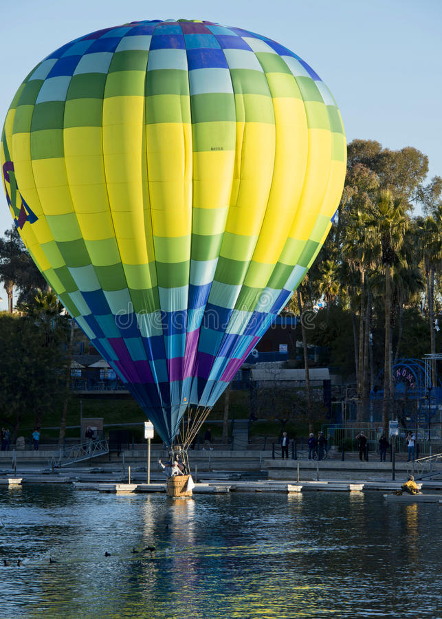 Fest de ballon de Lake Havasu photos stock
