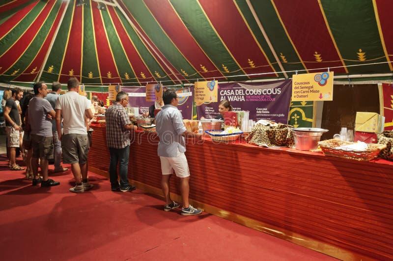 Fest de Cous Cous - Capo do lo de San Vito foto de stock royalty free
